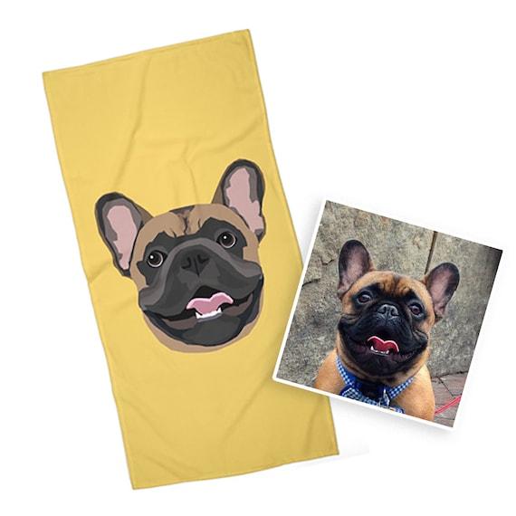 Custom Pet Towel | Drawn from Photo