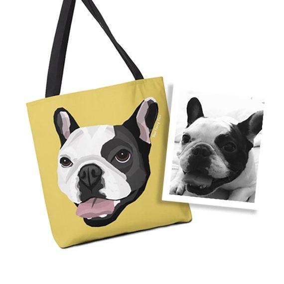 Custom Tote Bag | Drawn from Photo