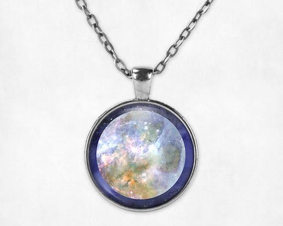 Science jewelry for women Pluto pendant Pluto Planet jewelry Pluto planet necklace Pluto jewelry Pluto necklace