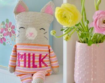 Crochet pattern little cat (English US)