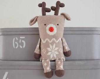 Crochet pattern reindeer (English US)