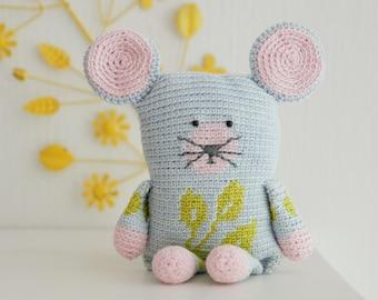 crochet pattern mouse (English US)
