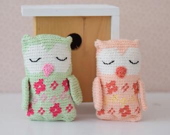Crochet pattern owl (English US)