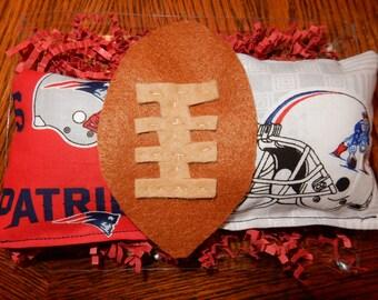 New England Patriots football catnip toys for cats