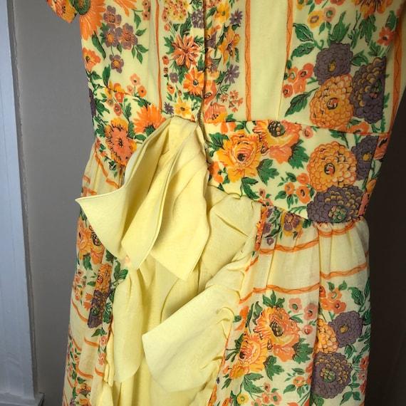 Handmade Gunne Sax Style floral dress - image 5
