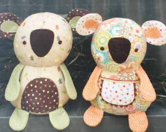 PATTERN: Koalas Bonzer and Beaut from MELLY and ME ~ Fat Quarters sewing pattern