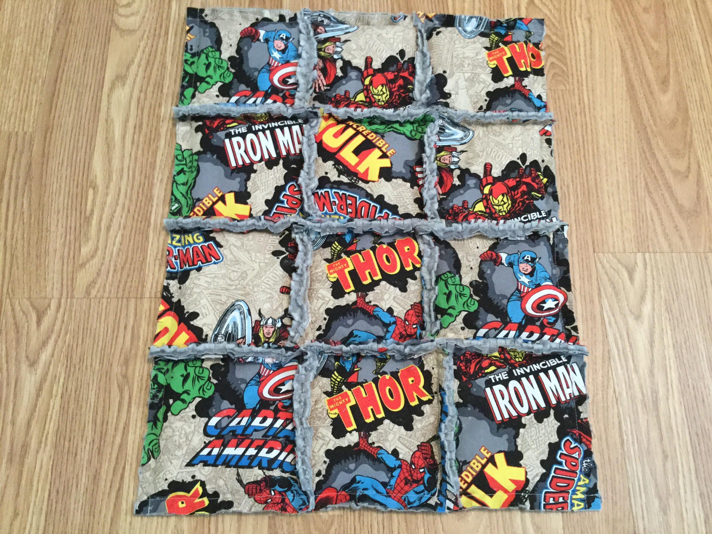 Marvel Super Hero Weighted Lap Pad Weighted Lap Blanket
