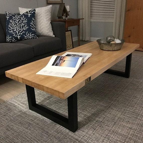 Metal table legs U Shape set of 2