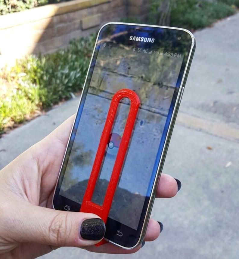 Pokemon Go Aimer Universal Phone Aim Assist 3D Printed image 0