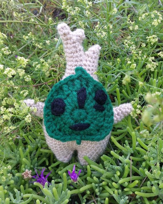 Makar Amigurumi, Korok Crochet Plushie, Legend of Zelda The Wind Waker,  Breath of the Wild Forest Spirit