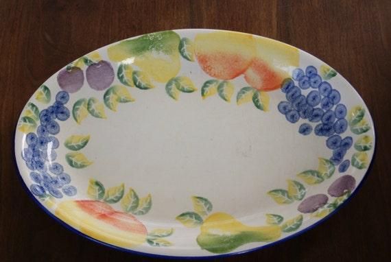 & Bizzirri BIZ1 16 inch oval serving platter