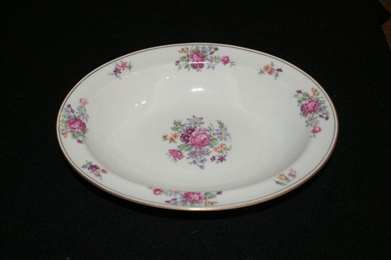 Haviland Arlington 9 inch oval vegetable bowl