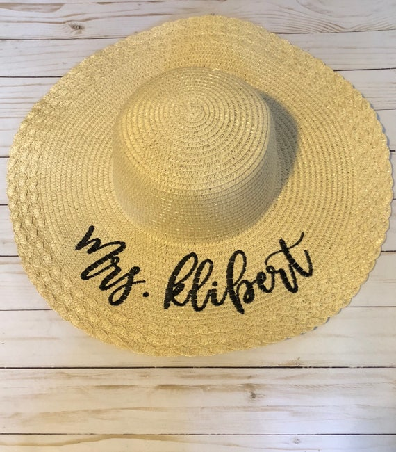 Sun hat beach hat floppy hat straw hat summer hat wifey  ab59cae2e56