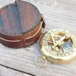 compass, sundial compass, nautical compass, engraved compass, personalized compass, groomsmen gift, wedding, anniversary, wanderlust gift