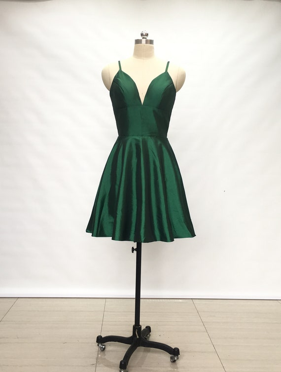 In Green Short Homecoming Dresses Under $50