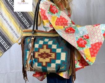 367d6e1b74 Gray Saddle Blanket Bag