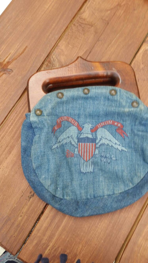Vintage Americana handbag 70's or 80s