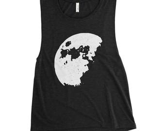 The Moon / La Luna / Outer Space / Science / Muscle Tank