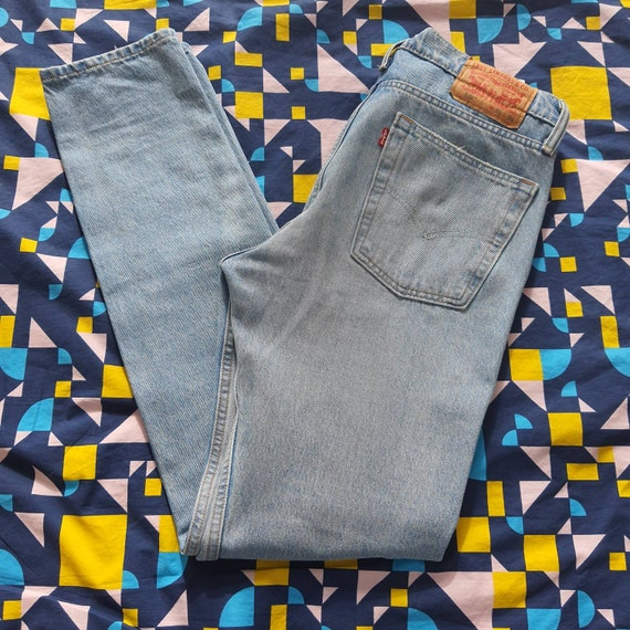 Levis jeans light blue denim levi strauss 510 W31
