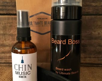 Ultimate Beards Oil and Wash Pack