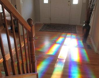 Rainbow Window Film DIY Suncatcher - Bring Beautiful Rainbows Into Your Home