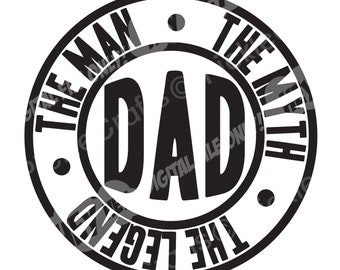 New Dad Svg Etsy