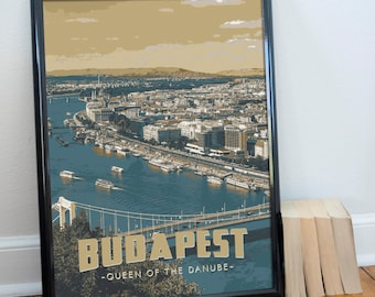 Budapest, Hungary Poster 11x17 18x24 24x36