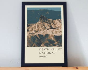 Death Valley National Park Poster 11x17 18x24 24x36