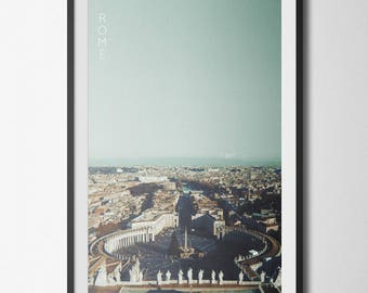 Rome Italy St. Pierre Basilica Poster 11x17 18x24 24x36
