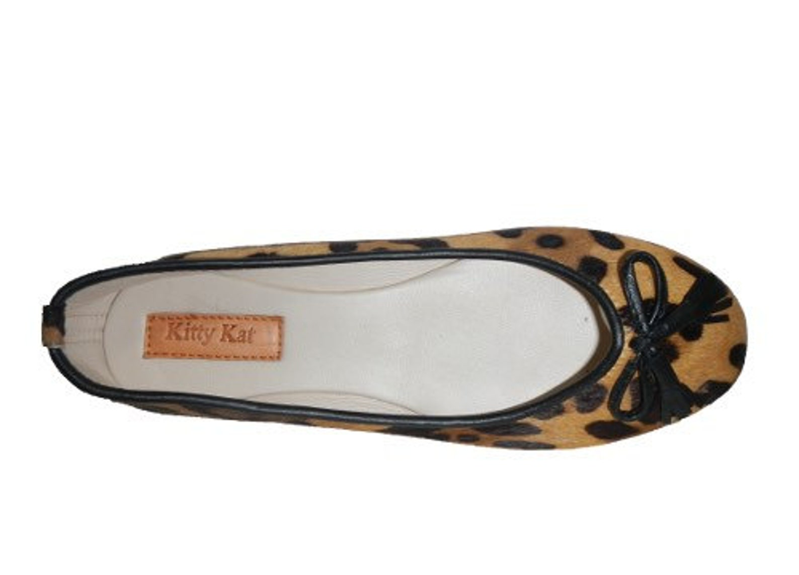 ponyskin ballet shoes, leopard print ballet flats, ponyskin and genuine leather ballet shoes. last pair