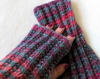 Hand Knitted Hand Warmers, cosy, fashion, style,