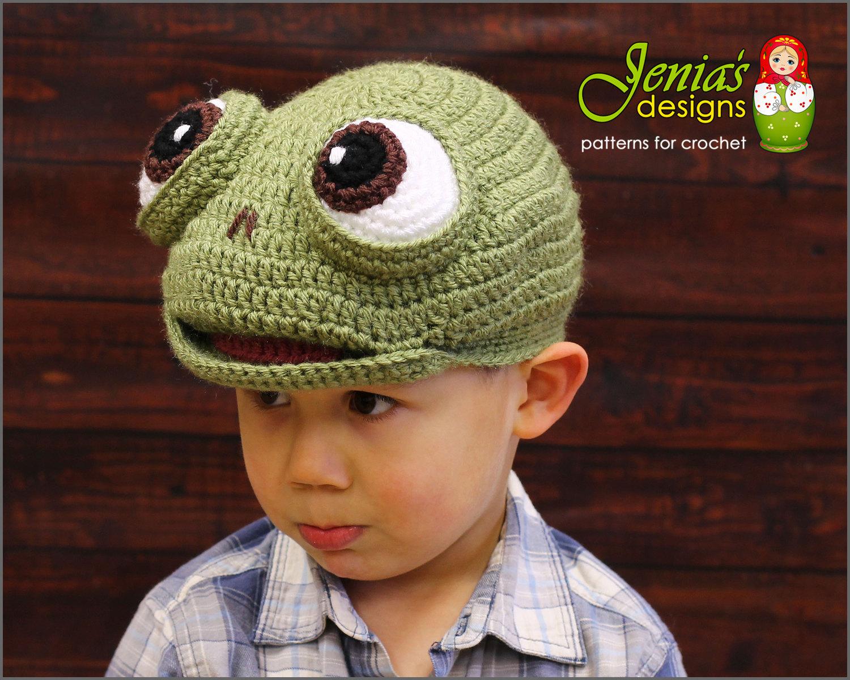 Crochet Pattern Crochet Turtle Hat Pattern Animal Hat Etsy