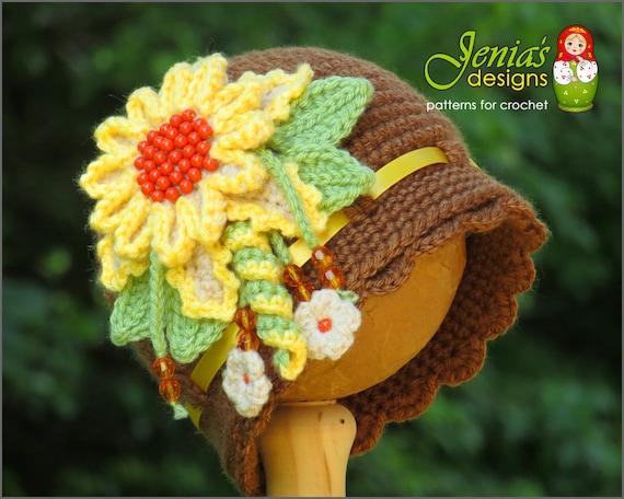 Crochet Pattern Crochet Cloche Hat Pattern Vintage Etsy