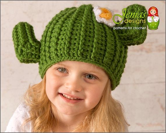 Crochet Pattern Crochet Cactus Hat Pattern Saguaro Cactus Etsy