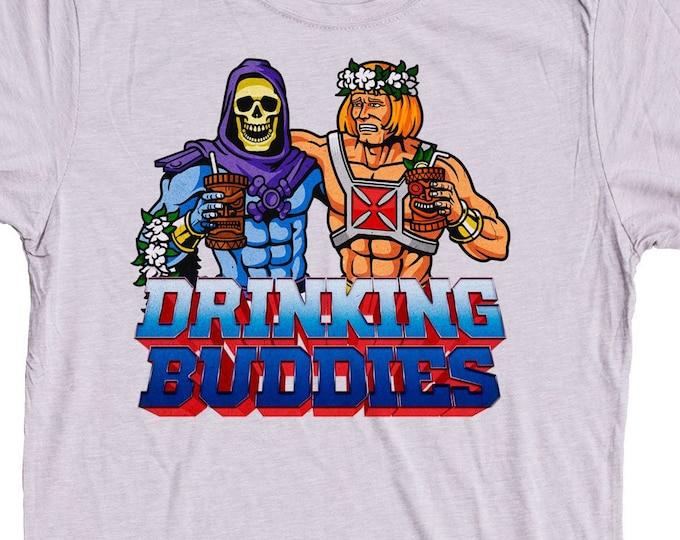 Tiki Party Shirt Drinking Buddies