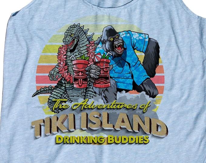 Womens Tiki Tank Top, Drinking shirt