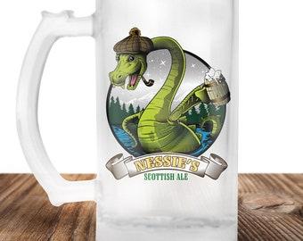 Lochness Monter Beer Stein- Ol Nessies Scottish Ale -Lochness Monster