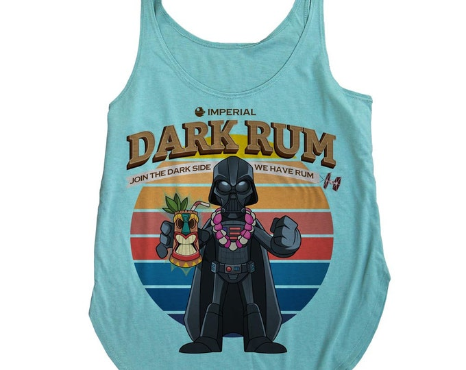 Star Wars Tiki Darth Vader Tank Top