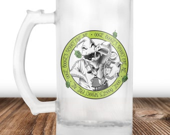 Oogie Boogie Beer Mug- Oogie Boogie from Nightmare Before Christmas