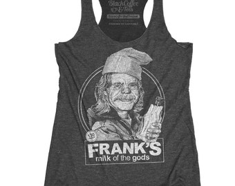 Shameless Shirt- Frank from Shameless Milk of the gods Beer Shirt Hand Screen Printed Tank Top