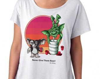 Gremlins Gizmo Shirt - Womens Craft Beer Shirt