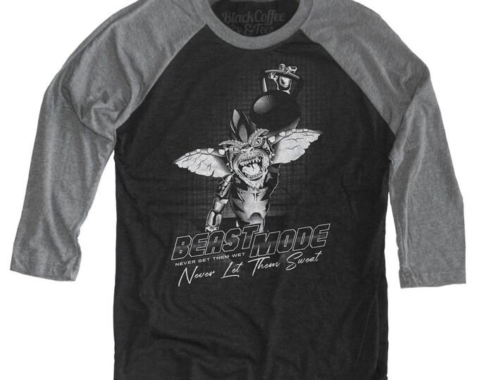 Gremlins Workout Kettlebell Shirt Long Sleeve