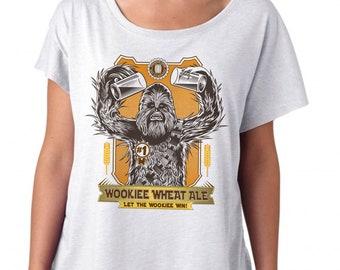 Wookiee Star Wars Womens Craft Beer Shirt