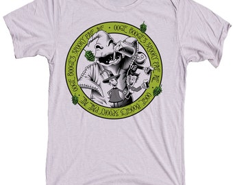 Nightmare Before Christmas Shirt - Oogie Boogie Printed on a Shirt