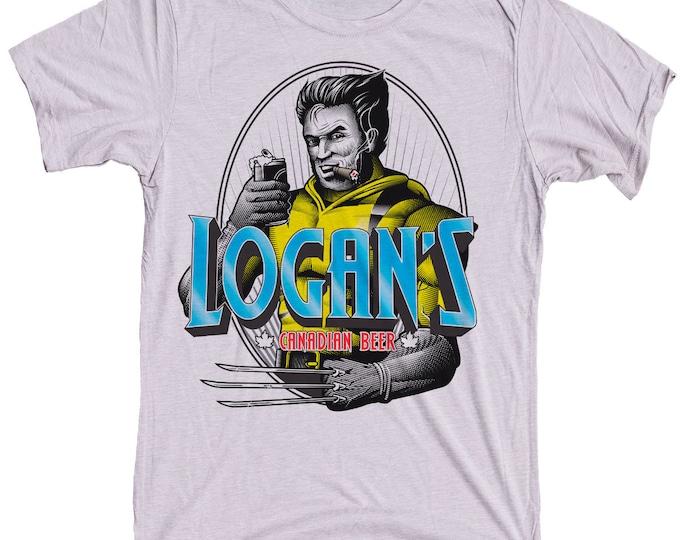 Wolverine Shirt - Mens Super Hero Craft Beer Shirt