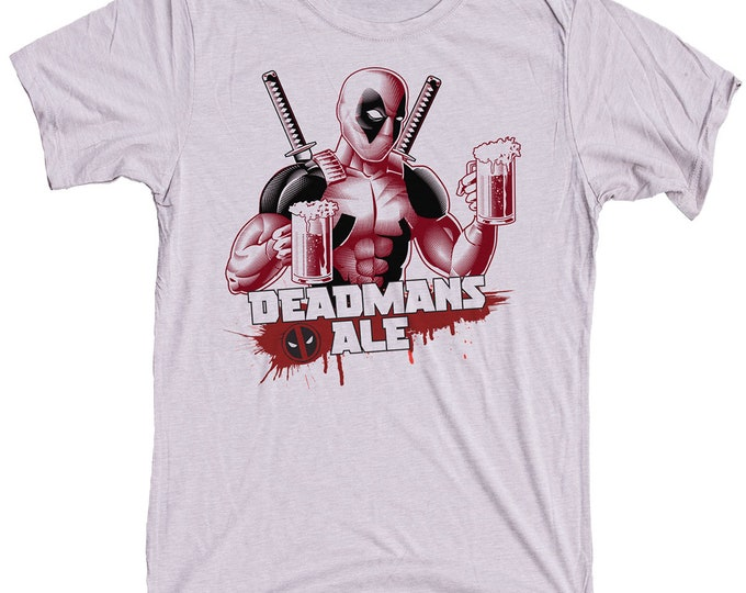 Deadpool Beer T Shirt