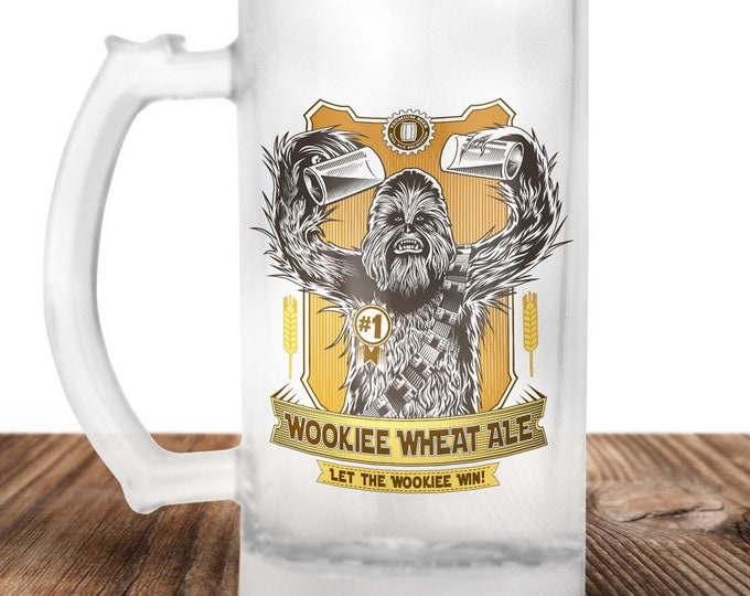Chewbacca Beer Stein - Wookie Beer Mug - Craft Beer Mug -Beer Mug