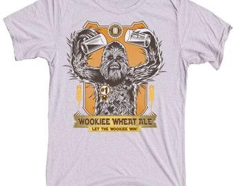 Star Wars Chewbacca Shirt - Men's Wookiee Craft Beer Shirt