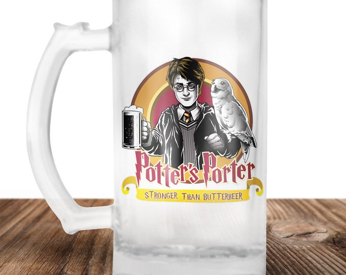 Harry Potter - Butter Beer - Craft Beer Mug -Beer Mug