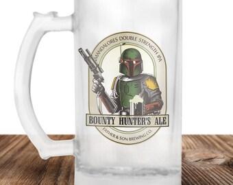 Boba Fett- Boba Fett Beer Stein- Boba Fett Bounty Hunter Ale